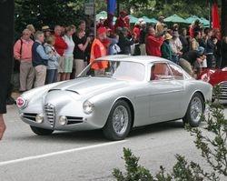 1956 Alfa Romeo 1900 Zagato Coupe