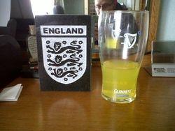 England football club badge