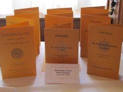 Past DSSA Dinner Programs