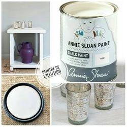 Pure White Chalk Paint Annie Sloan