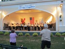 Band at the Peter Buys Memorial Band Shell