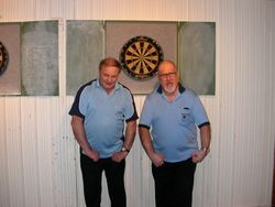 Mens Doubles Winners Eddie Simon & Bob Weaver