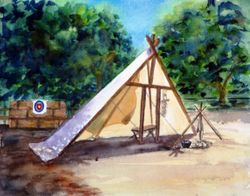 Tent Camp, Fort Hope