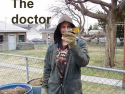 The Doctor is in.
