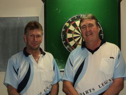 A Grade Doubles Runners Up - Rob Crowe & Bill Collier