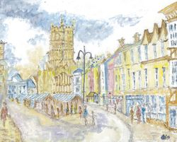 Cirencester Market Place - The Cotswolds, England