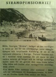 Strandpensionatet 1940