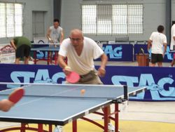 Mike Sanchez veteran player in action