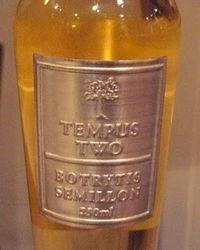 Tempus two dessert wine
