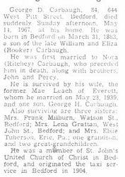 Carbaugh, George D. 1967