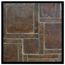 OCA Sticks/Squares Dk Brown Waxed