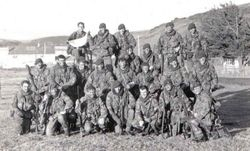 5 Troop B Coy Falklands