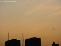 Cirrus at sunset