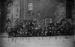 "Captured IRA photo of ""F"" Company"