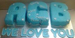 Initials cake (SP119)