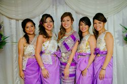 Hul-Seng Bridal Party - Reception