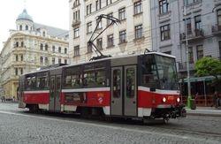 Tatra T6 on Milady Horakove.