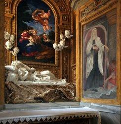 Bernini, Death of the Blessed Ludovica Albertoni