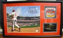 Albert Pujols 2005 National League MVP Photo