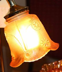 lampshade - maker and pattern?