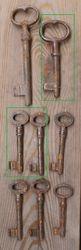 Antikvariniai raktai. Kaina po 2 - 3