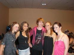 Elise, Mitch, Kristen and friends