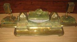Art Deco onikso rastines komplektas. Kaina 156 Eur.
