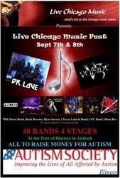 Live Chicago Autism festival 2013