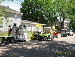 Parade line up