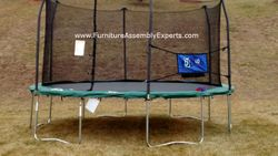 skywalker trampoline removal service in Sterling Virginia