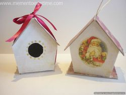 Decorative bird boxes