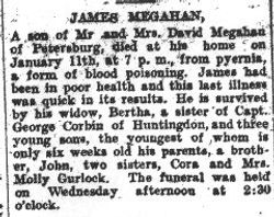 Megahan, James 1909