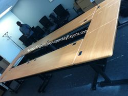 Conference table installation service in Washington DC