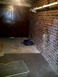 Garage and storage space