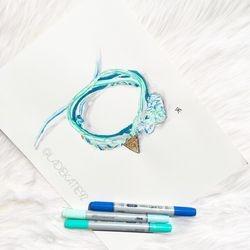 Bracelet Illustration for Pretty by JL