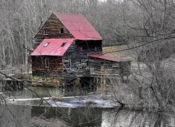 Wintry Woodson Mill