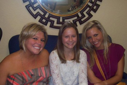 My little sisters and I @National House of Hope Fund Raiser