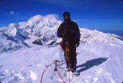 Erik on summit of Mt. Brooks