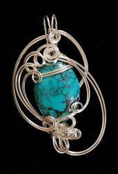 Turquoise in Sterling Silver