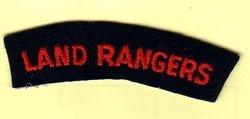 Land Ranger Shoulder Badge