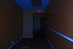 Another long dark hallway. Story of our lives.