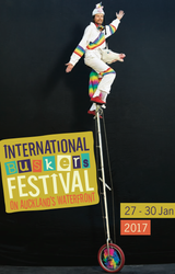 Front Cover of the Auckland Festival Brochure