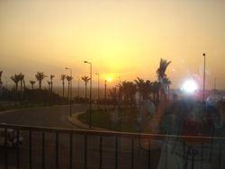 Sunset from Hurghada Village
