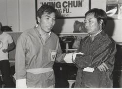 Jimmy Fung and Wong Sheung Leung