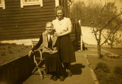 Julia Lundgrens konditori 1949