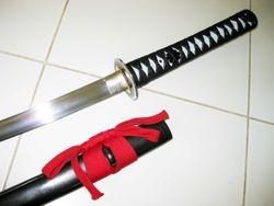 Curved Katana Sword