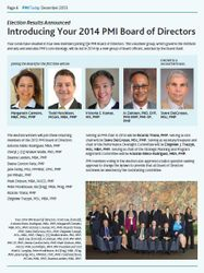 Introducing the 2014 PMI Board of Directors