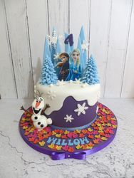 Willow's 4th birthday cake