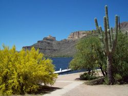 Apache Lake, Apache Trail
