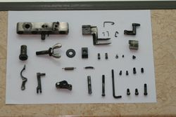 Trip mechanism disassembled